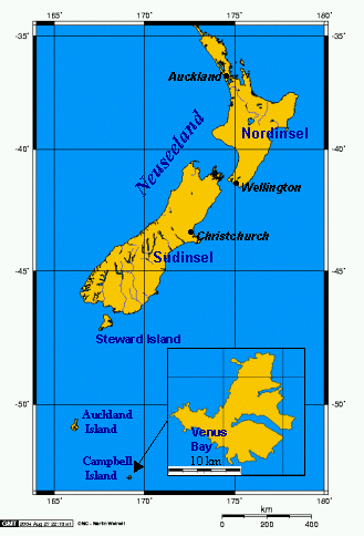 Neuseeland mit Campbell